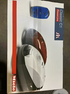 Miele Classic C1 Cat and Dog Canister Vacuum Lotus white - NIB