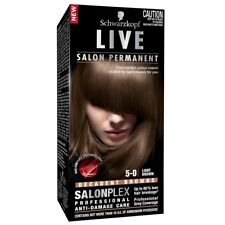 Schwarzkopf Live Salon 5.0 Light Brown Intensive, long-lasting colour