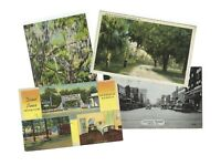 LOT 4 Georgia 1940s VINTAGE POSTCARDS SCOTT# 804, 899 at $.85 each!