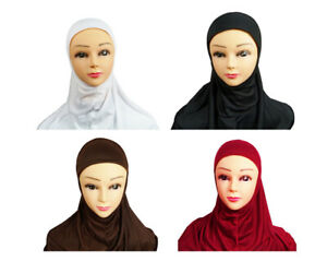 Al Amira One Piece Hijab Scarf Stole for Muslim Women Ladies Several Colours