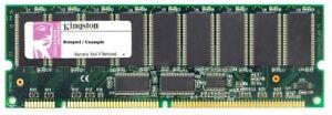 512MB Kingston PC100R ECC Reg Sdram 168P Rdimm KTC3617/512 313617-B21