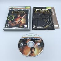 Star Wars: Knights of the Old Republic (Microsoft Xbox 2003) Complete CIB