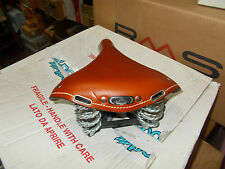 """SADDLE BROWN LEATHER """" OLD ENGLAND """" FOR BICYCLE"""
