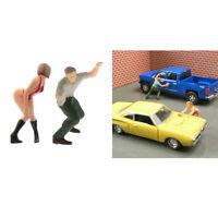 Standard 1:64 Menschen Figuren Diorama Miniatur Szene Zug Layout S Skala
