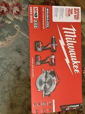 Milwaukee 2893-23CX 3Tool Combo Kit