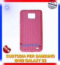Pellicola+Custodia EXA ROSA per Samsung I9100 galaxy s2 plus I9105
