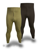 THERMAL LONG JOHNS BOTTOMS BASE LAYER WICKING MILITARY BLACK OLIVE GREEN ARMY