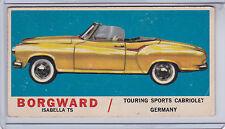 1961 TOPPS #26 BORGWARD ISABELLA TS 1304