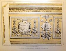 """MONTACUTE CHAMBER  - from """"Old English Mansions"""" c1895"""