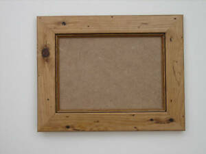 Antique Pine Real Wooden 5x7 Photo Picture Frame Hang
