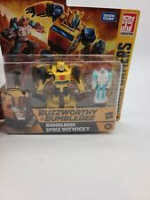 Hasbro Transformers War For Cybertron Buzzworthy BUMBLEBEE SPIKE Witwicky 2 Pack