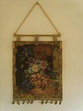 Floral Tapiz colgante de pared mide 13 X 18 Pulgadas; 33 X 45 Cm (borla de poste) v2