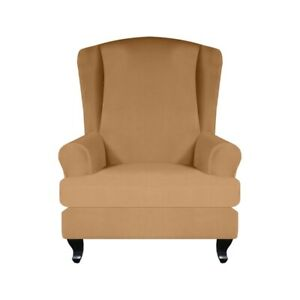 Stretch Wing Chair Cover &Cushion Cover Sofa Slipcover Couch Chair Protector