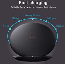 Samsung INDUKTIVE Schnell Ladestation EP-PG950 SCHWARZ Galaxy S8 S8+ Note8