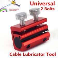 1x Bicycle Motorcycle ATV Cable Lubricator Tool Brake Clutch Luber Oiler 2 Bolts