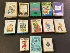 Vintage Lot Thirteen (13) Mini Cards Games