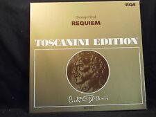 G. VERDI-REQUIEM/Toscanini 2 LP-BOX