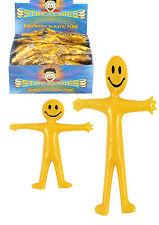 Stretch & Smile Man kid birthday Party Loot Bag Children Toy Stocking Filler