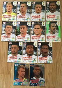 Panini Fifa World Cup 2014 Trading Cards - England