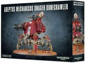 Warhammer 40k Adeptus Mechanicus Onager Dunecrawler -->NEW in BOX<--