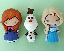 Elsa Anna Olaf-Disney Frozen Pupazzo di Neve Ragazza Natale dress It Up Bottoni Craft