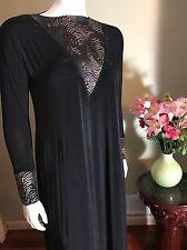 Stretch Khaleeji Abaya Arabic Jilbab With Hijab Dubai Made Size L 58