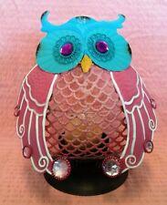 Owl Candle Holder Candelabra Dinner Table Home Decorative Ornament Tea Light
