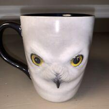 Harry Potter Hedwig White Owl 3D Coffee Mug Universal Studios Wizarding World