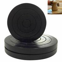 UK 11cm Plastic Turntable Pottery Clay SculptureTool 360 Flexible Rotation Wheel