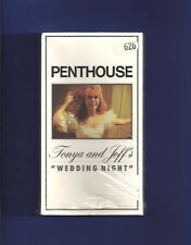 PENTHOUSE Tonya and Jeff's ''WEDDING NIGHT'' on VHS VIDEO tape !!!