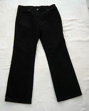 Marks & Spencer chocolat Couleur Needlecord Style Jeans/Pantalon Taille 12 S