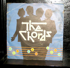 """The Chords - Now It's Gone / Don't Go Back Mint- 7"""" PS 2059 141 1979 UK Polydor"""