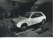 Peugeot 205 Pininfarina Wind Tunnel Test Aerodynamic Original Photograph