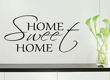 Home Sweet Home Wall Art Quote Vinyl wall sticker, DIY Wall Decal HIGH QUALITY
