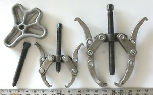Three Gear and Bearing Pullers / Two are Craftsman / $.99 Start - No Reserve