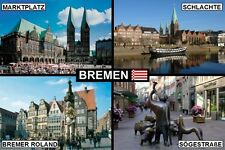 SOUVENIR FRIDGE MAGNET of BREMEN GERMANY