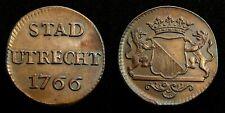 Netherlands / Utrecht - Duit 1766 ~ CNM. 2.44.22