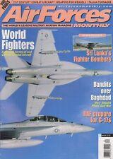 Air Forces Monthly (Apr 2001) (Sri Lanka's Fighters, F-117, RAF C-17, SU-34)