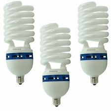 Kit 3x Lampada Studio Risparmio Energetico DayLight PRO 400Ws E27 Illuminatore