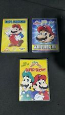 Super Mario Bros 3x DVD Lot Best Of Super Show / Mario Bros Mix & Koopa Kronicle