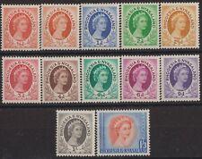 g792) Rhodesia & Nyasaland 1954/56. MM. Small Collection. Royalty. c£24+