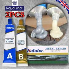 2PC Industrial Heat Resistance Cold Weld Metal Repair Paste Gel UK