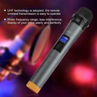 Microphone sans fil Karaoké Microphone à main micro KTV Haut-parleur UHF Set