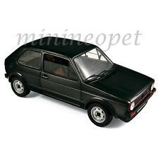 NOREV 188487 1976 VW VOLKSWAGEN GOLF GTI 1/18 DIECAST MODEL CAR BLACK