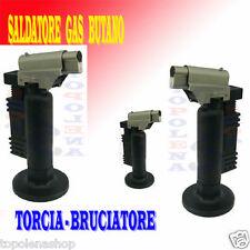 TORCIA SALDATORE BRUCIATORE A GAS BUTANO RICARICABILE