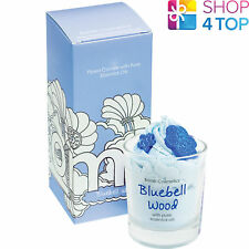 BLUEBELL WOODS PIPED CANDLE BOMB COSMETICS FLORAL YLANG YLANG GERANIUM NEW