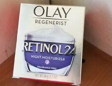 Olay Regenerist Retinol 24 Night Moisturizer, Fragrance Free, 1.7 oz., NEW