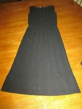 vintage KNIT dress LINEN RAYON RAPALLO OF ITALY DIV. CABOT KNITTING MILLS SMALL