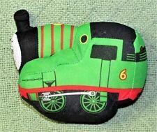 "FISHER PRICE THOMAS THE TANK PERCY GREEN TRAIN ENGINE PLUSH STUFFED ANIMAL 6"""