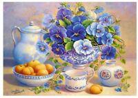 Puzzle Trefl 1000 Teile - Blue Bouquet (64817)